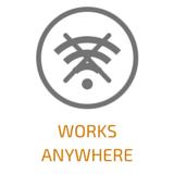 Works anywhere