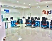 Fly Dubai Lobby Qmatic