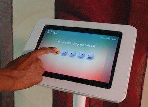 Customer Feedback Tablet