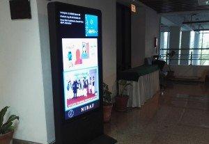 NIBAF Digital Signage S-Tech