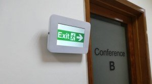 Meeting Room Exit sign