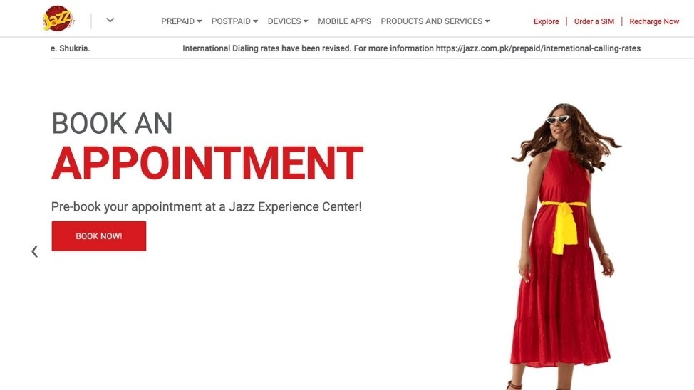 Qmatic appointments at Jazz